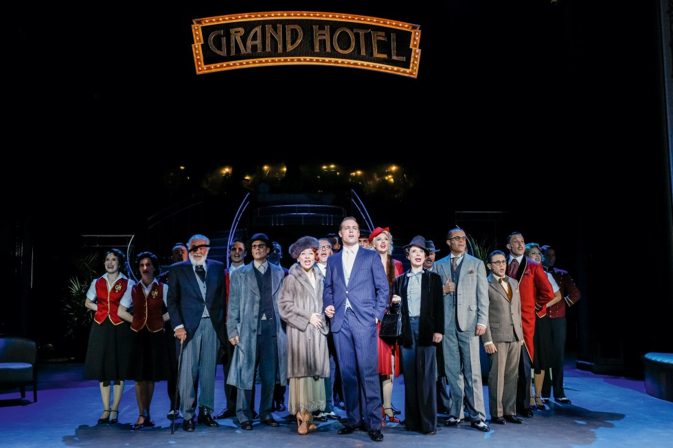 Grand Hotel Musical Inhalt